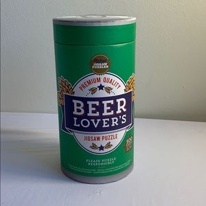Beer Lover's Jigsaw Puzzle New Sealed